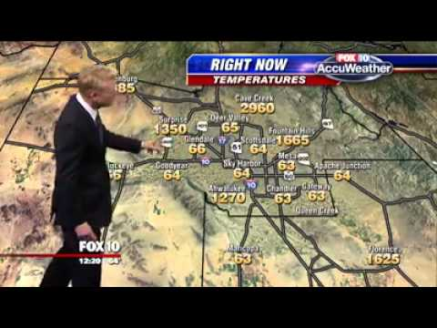 Fox weatherman runs into a glitch and doesn't even flinch