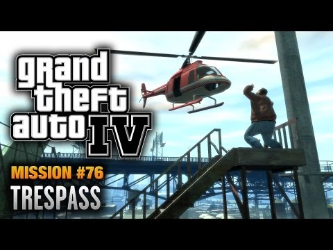 Trespass - Grand Theft Auto IV Mission Walkthrough Video in Full HD (1080p) GTA IV & Episodes from Liberty City (Chronological Order) Playlist: http://www.youtube.com/p...
