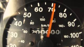 That glorious moment when all six of the numbers turn over.1999 Isuzu Rodeo LS 5-speed