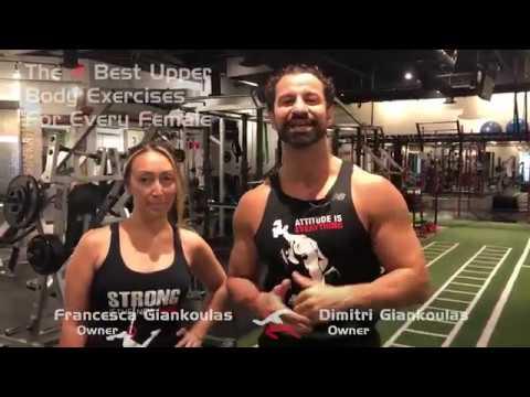 The 4 Best Upper Body Exercises for Females