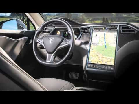 электромобиль тесла модель s видео