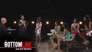 Video The Bottomline: Miss Q & A Grand finalists interview each other MP3, 3GP, MP4, WEBM, AVI, FLV Desember 2018