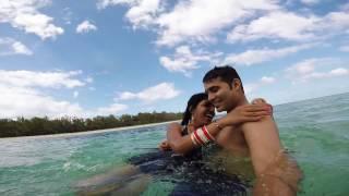 Mauritius Honeymoon  2016 Go Pro Hero 4