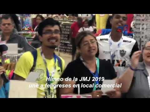 Himno de la JMJ 2019 une a feligreses en local comercial
