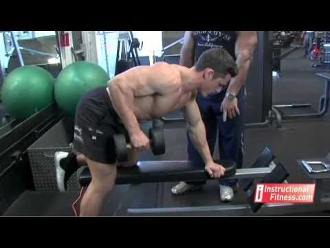 joe tong - Personal fitness trainer Joe Tong teaches the proper way to do one-arm dumbbell rows. Exercises: The back. If you have any fitness questions, please submit t...