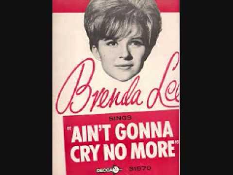 Tekst piosenki Brenda Lee - Ain't Gonna Cry No More po polsku