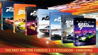 Nonton THE FAST AND THE FURIOUS 1 - 7 STEELBOOK (Blu Ray) UNBOXING Film Subtitle Indonesia Streaming Movie Download
