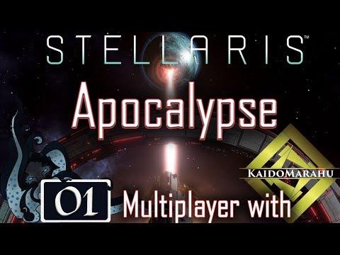 Space Burgundy - Stellaris: Apocalypse - Multiplayer with Kaido Marahu - Space Aragundy - #01