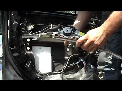 1995-2003 Nissan Maxima: Front window regulator replacement