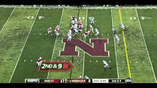 Rex Burkhead vs Ohio State (2011)