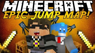 Minecraft: Epic Jump Map HALLOWEEN w/HuskyMudkipz!