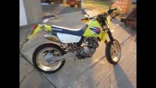 8. Suzuki DR200se 2007 motard FMF Q4 exhaust sound clip/look around