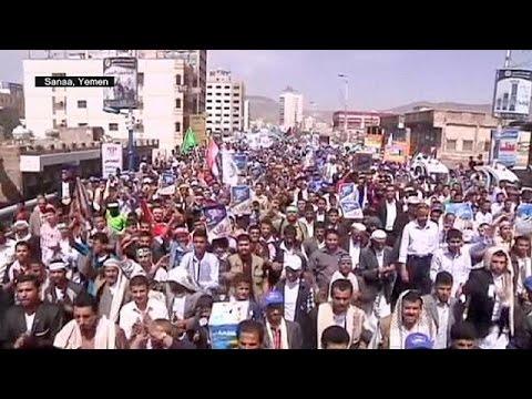 مظاهرات تضامن عبر العالم مع سكان قطاع غزة