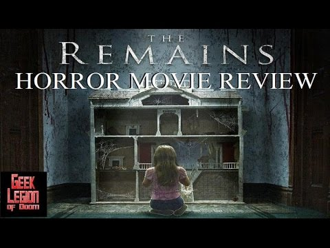 THE REMAINS ( 2016 Todd Lowe ) Horror Movie Review