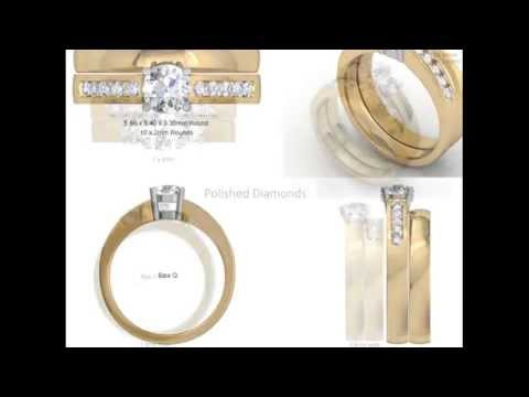 Yellow Gold Bridal Sets - CAD