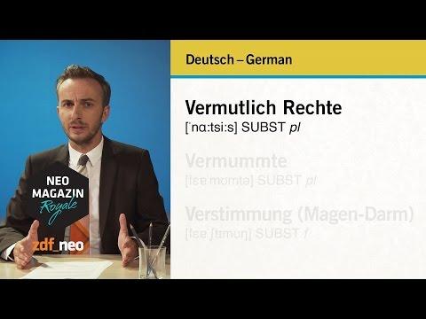 Deutsch - German, German - Deutsch   #heidepack NEO MAGAZIN ROYALE mit Jan Böhmermann - ZDFneo