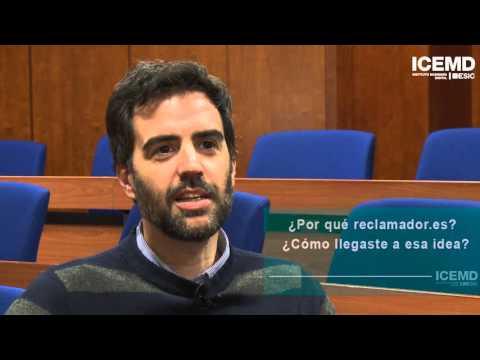 Entrevista Pablo Rabanal, CEO y Fundador de Reclamador.es, en ICEMD Emprendedores