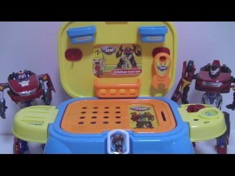 헬로 카봇 – 공구놀이 의자세트 장난감 Hello Carbot Toys 장난감 채널