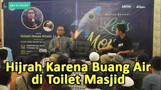 Video Kisah Hijrah Karena Numpang Buang Air di Toilet Masjid - Ust. Hanan Attaki MP3, 3GP, MP4, WEBM, AVI, FLV April 2019
