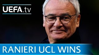 Watch goals from Leicester City manager Claudio Ranieri's best wins in Europe, in charge of Chelsea, Juventus, Roma and Internazionale. Subscribe: http://www...