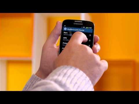 Tuto Android: configurer la connexion internet mobile - Mobistar