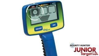 Лучший металлоискатель для детей — Bounty-Hunter Junior Target I.D.