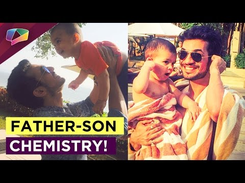 Off Screen Chemistry Of Arjun Bijlani And his Son