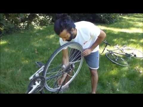 comment réparer frein vélo
