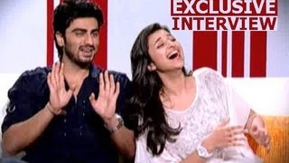 Face to face with Arjun Kapoor & Parineeti Chopra
