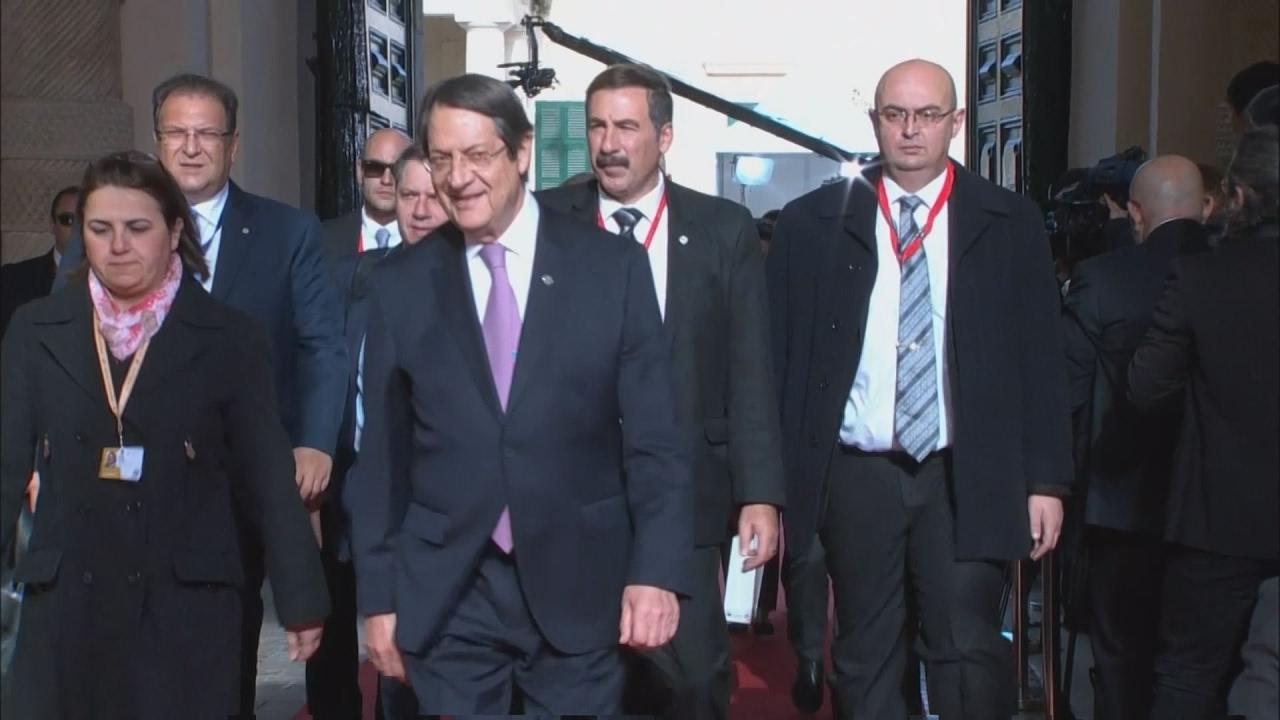 Ανταλλαγή απόψεων Αναστασιάδη – Μέι στη Μάλτα για το Κυπριακό