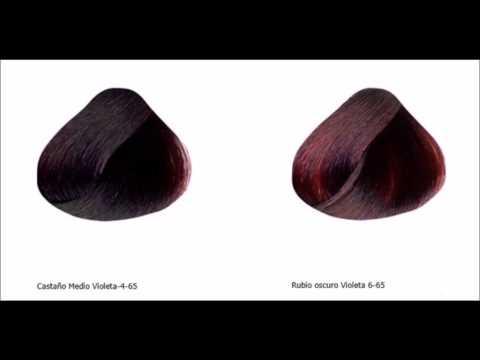 como pintar el pelo violeta -