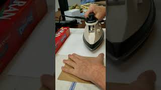 Video Applying a paper napkin to a card with cling wrap MP3, 3GP, MP4, WEBM, AVI, FLV September 2019