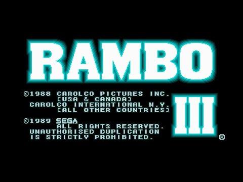 rambo 3 megadrive rom