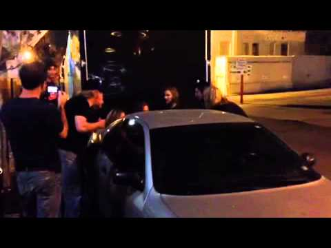 VIDEO: Frankie Ballard and Crew Move Car