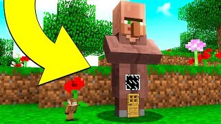 6. HOW TO LIVE INSIDE A VILLAGER IN MINECRAFT!