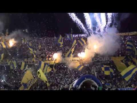 Video - Recibimiento Rosario Central vs Sarmiento 2015 - Hinchada Los Guerreros - Los Guerreros - Rosario Central - Argentina