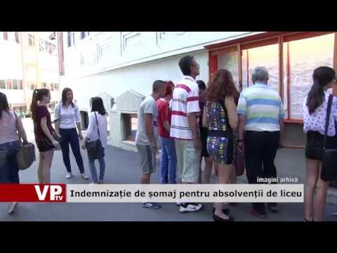 Indemnizație de șomaj pentru absolvenții de liceu