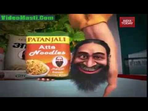 Baba Ramdev Cartoon Yoga