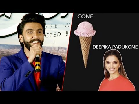 Ranveer Singh EPIC REACTION On Deepika Padukone CO