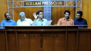TIM HR Conclave 2014 Press Meet at Press Club, Kollam