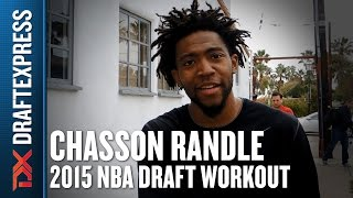 Chasson Randle - Pre-Draft Workout & Interview - DraftExpress