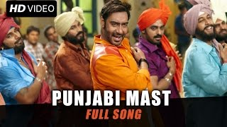Punjabi Mast Official (Video Song) - Action Jackson - Ajay Devgn, Sonakshi Sinha