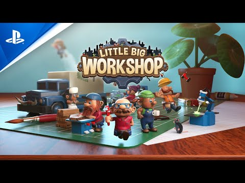 Little Big Workshop - Release Trailer | PS4