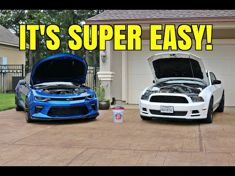 How To Clean Your Engine Bay (Two Different Ways)