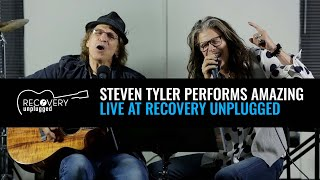 <b>Steven Tyler</b> Performs Amazing At Recovery Unplugged Drug Rehab