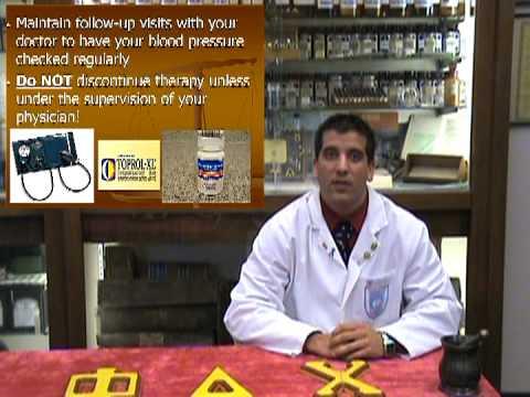 Metoprolol (Lopressor or Toprol XL) - Know Your Drug
