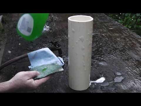 Homemade PVC Gas Tank