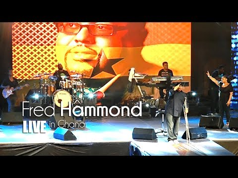 Fred Hammond Live In Ghana - Intro & Testimony | Jaystiqs