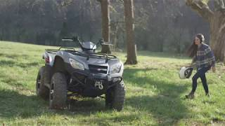 4. 2017 KYMCO : MXU 450i LE