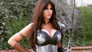 Game of War Cosplay -Scale Armor Bra Tutorial & CONTEST! | Screen Team